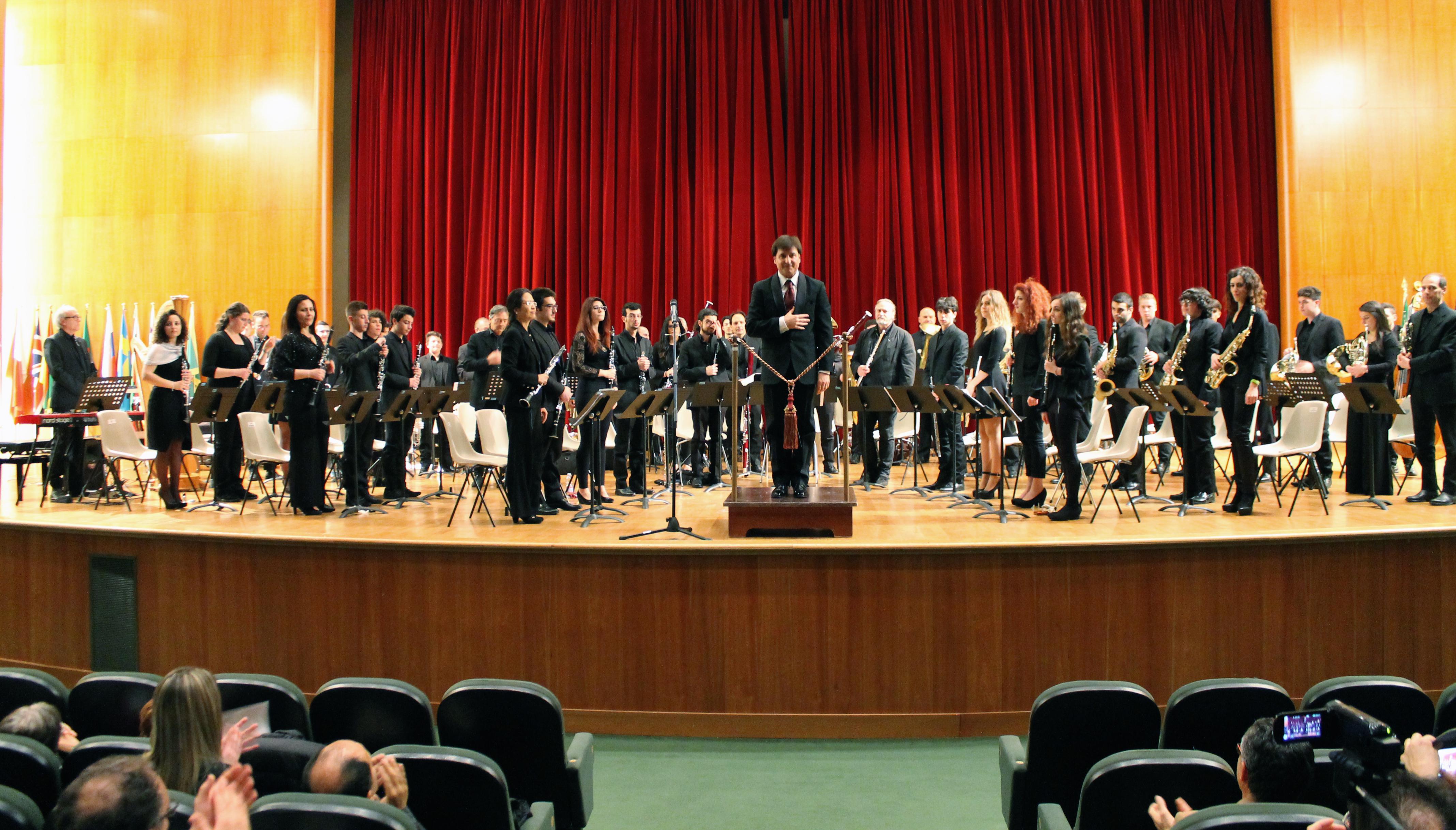"""9 dicembre: Symphonic Band del Conservatorio """"A. Casella"""" de L'Aquila"""