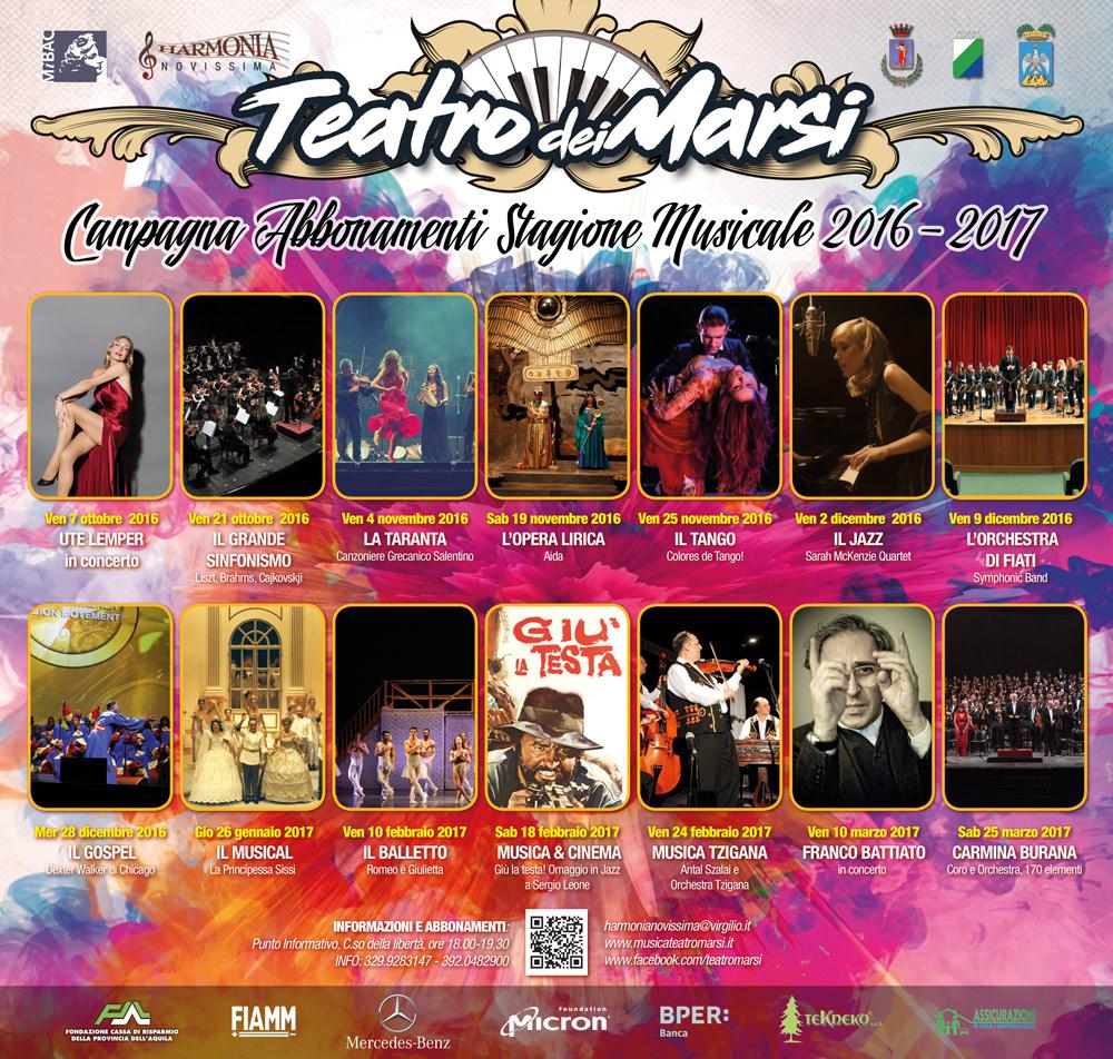 Stagione Musicale 2016/2017