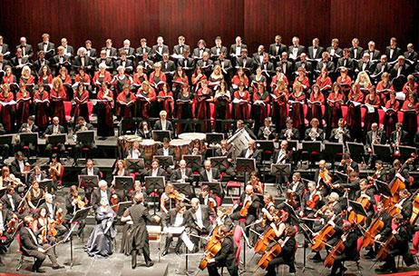 Coro Accademia di Pescara, Coro Teatro di Ascoli, Istituzione Sinfonica Abruzzese