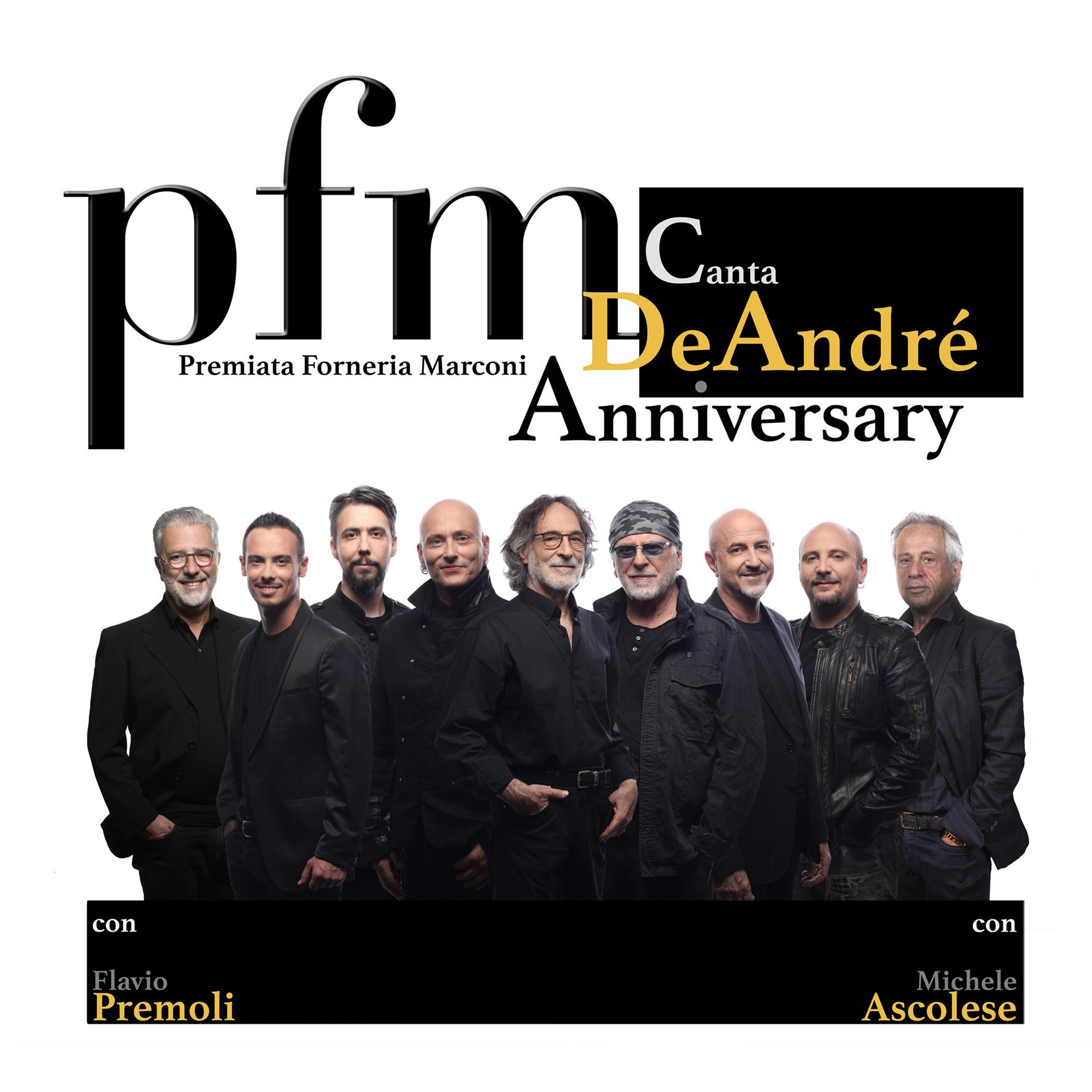 29 marzo – PFM CANTA DE ANDRÈ
